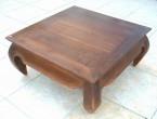 table opium en bois teak