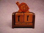 calendrier tortue