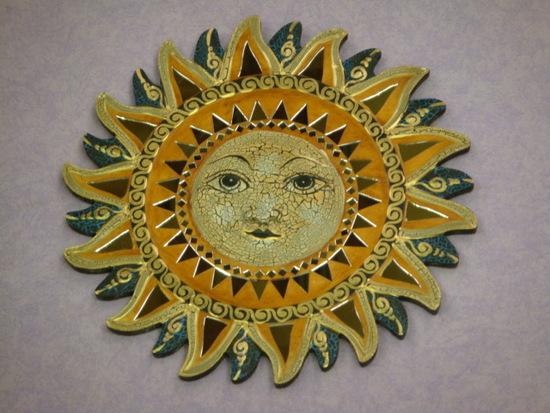 miroirs ying yang soleil pentagram luna avec un soleil. Black Bedroom Furniture Sets. Home Design Ideas