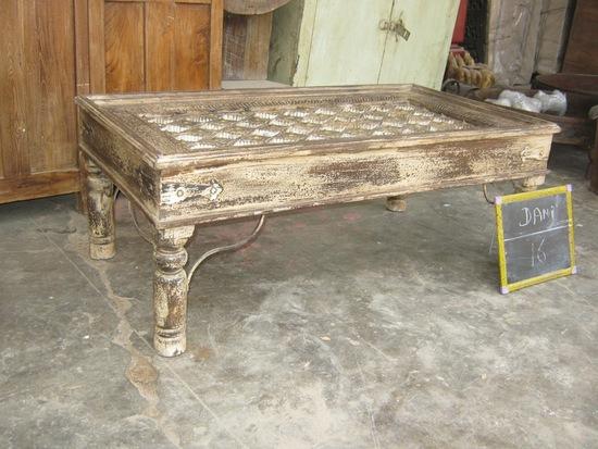 table basse indienne ancienne. Black Bedroom Furniture Sets. Home Design Ideas